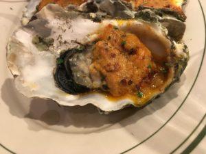 Oysters Kirkpatrick  Sly's in Carpenteria, CA