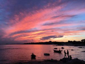 Sunset in Beidaihe